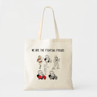 Fighting Freuds Tote Budget Tote Bag