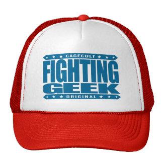 FIGHTING GEEK - Intellectual Mixed Martial Artist Cap