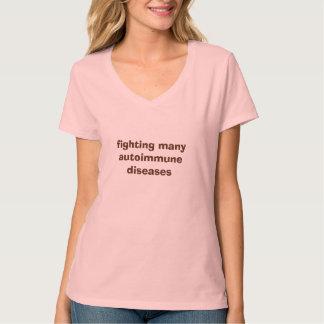 Fighting Many Autoimmune Diseases Tee Shirt