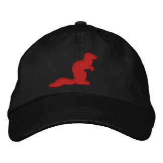 Fighting Mongooses Girls Hat Embroidered Baseball Caps