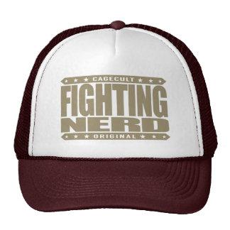 FIGHTING NERD - Train Self Defense to Stop Bulling Cap