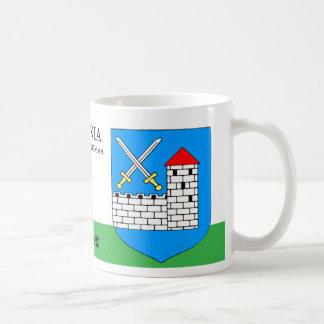 Fighting Swords w/ Castle from Ida Virumaa Estonia Coffee Mug