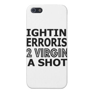 Fighting Terrorism By Virgins Cover For iPhone 5