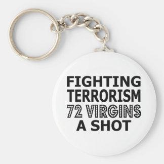 Fighting Terrorism By Virgins Keychains