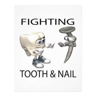 Fighting Tooth And Nail Flyer