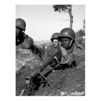 Fighting with the 2nd Inf. Div. north of_War image Postcard