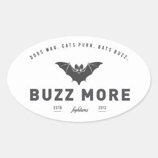 Fightwns' 'Buzz More' Sticker