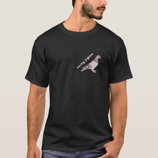 Figure blue carrier pigeon T-Shirt