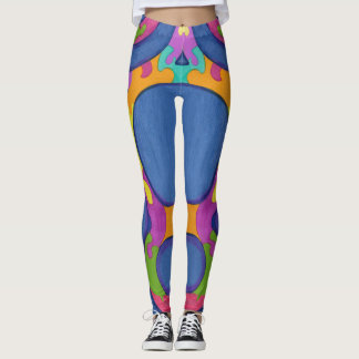 Figure Eights Puzzle Leggings