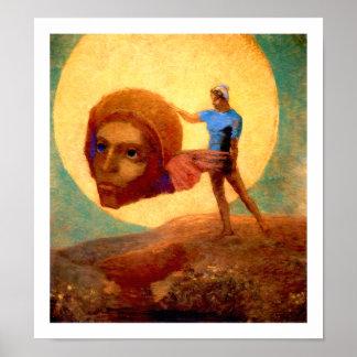 Figure - Odilon Redon Poster