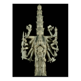 Figure of the Hindu Goddess Kali Postcard