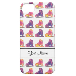 Figure Skate Pattern Iphone Cover