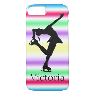 Figure Skater COLORFUL Personalized iPhone 7 case