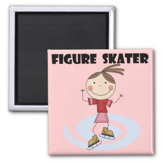 Figure Skater Girl Tshirts and Gifts Magnet