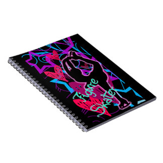 Figure Skater_Glow_Notebook Notebook