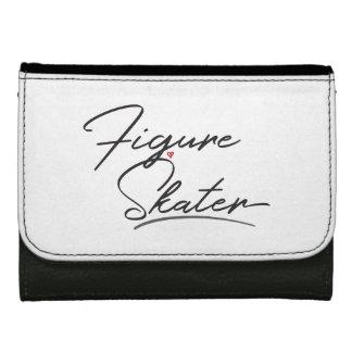 Figure Skater Leather Wallet For Women