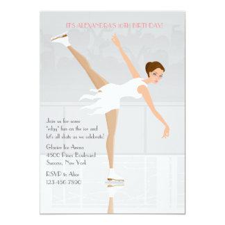 Figure Skater Party Invitation