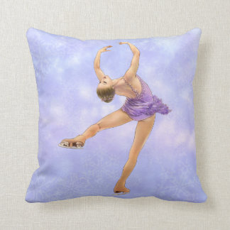 Figure Skater Pillow