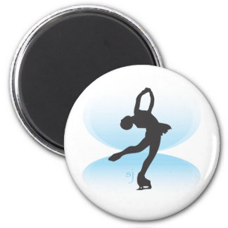 Figure Skater Spin Magnet