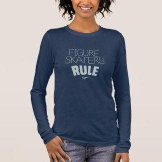 Figure Skaters Rule Long Sleeve T-Shirt