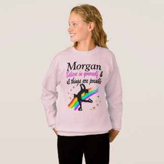 FIGURE SKATING CHAMPION PERSONALIZED SWEATSHIRT