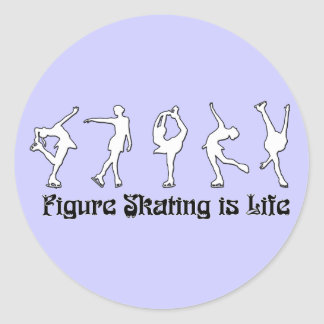 Figure Skating is Life Sticker
