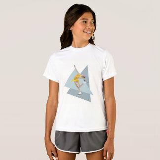 Figure Skating Layback Girls T-Shirt
