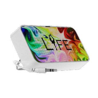 FIGURE SKATING Life - Rainbow Burst iPhone Speaker
