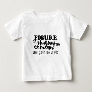 Figure Skating Mom Gift Baby T-Shirt