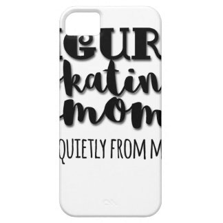Figure Skating Mom Gift iPhone 5 Cases