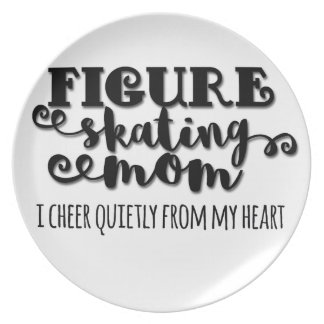 Figure Skating Mom Gift Plate