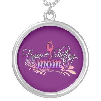 Figure Skating Mom Necklace - purple
