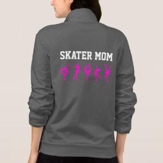 Figure Skating Mum Jacket/ Personalised Grey