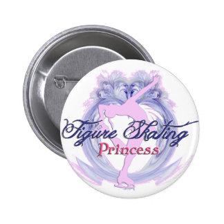 Figure Skating Princess 6 Cm Round Badge