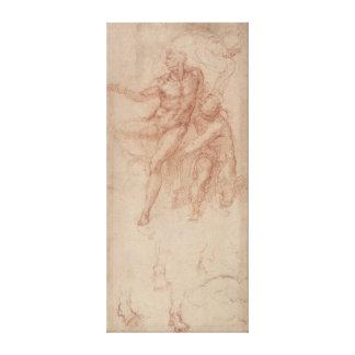 Figure Studies Stretched Canvas Prints