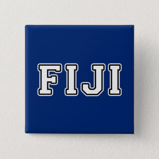 Fiji 15 Cm Square Badge