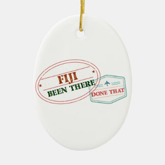Fiji Been There Done That Ceramic Ornament