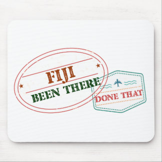 Fiji Been There Done That Mouse Pad