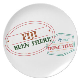 Fiji Been There Done That Plate