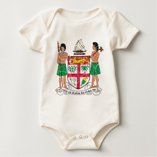 Fiji Coat Of Arms Baby Bodysuit
