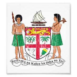 Fiji Coat Of Arms Photo Art