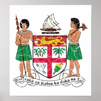 Fiji Coat Of Arms Posters