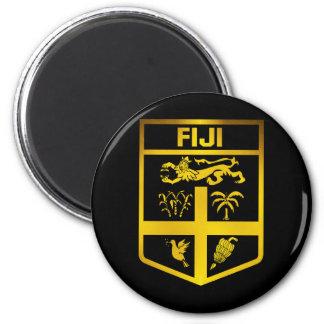 Fiji Emblem 6 Cm Round Magnet