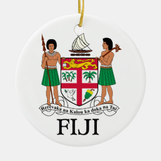FIJI - emblem / flag / coat of arms / symbol Ceramic Ornament