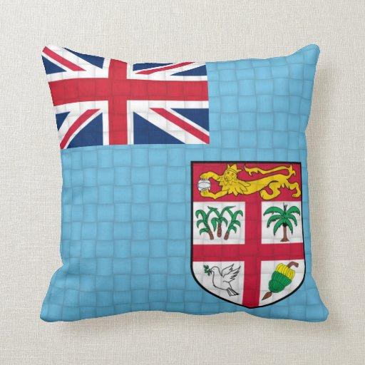 Fiji Fijian flag Throw Pillow