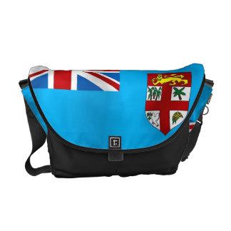 Fiji flag messenger bag
