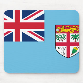 Fiji Flag Mouse Pad