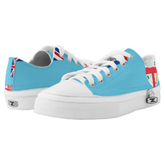 Fiji Flag --.png Printed Shoes