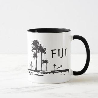 Fiji - Graphic Palm Trees
