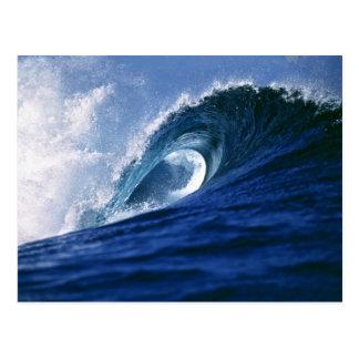 Fiji Islands, Tavarua, Cloudbreak. A wave Postcard